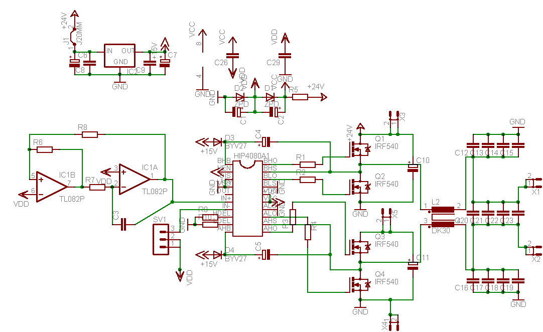Image Result For Diy Amplifier Class Da